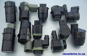Парктроники БМВ,  датчики парковки BMW e46,  e39,  e38,  e60,  e65,  e53,  Х3,  е83,  Х1,  Х5 Е53;  Е70,  Е90.