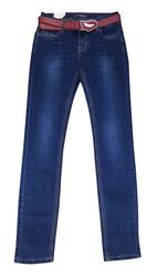 Продам джинсы с красным ремнем