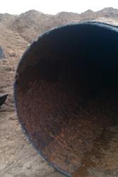 Труба 1120х9,  10 мм. прямошовная,  б/у (вода),  длина 11+ м.