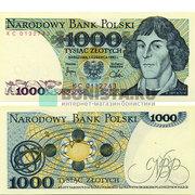 1000 злотых 1982 года