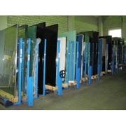 Механический стеллаж хранения листового стекла