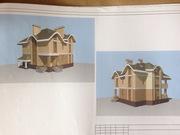 Продам стильный индивидуальный проект частного жилого дома (коттеджа)