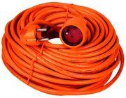 Удлинитель,  кабель гибкий в резиновой изоляции.