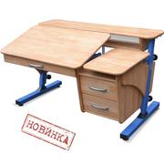 Парта со стулом деревянные Понди