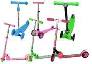 Детские самокаты двухколёсные,  трёхколёсные