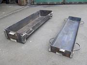 Формы для изготовления тротуарного бетонного бордюра