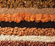 Продажа продуктов питания ,  сухофруктов и орехов