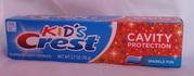 Детская зубная паста Crest Kids Sparkle Fun со вкусом жвачки - оригинал USA