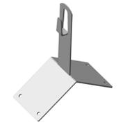 Коньковый держатель угловой DY,  DY-В,  с пластиком DYP