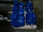 Электродвигатель асинхронный трехфазный  4АМ-132-S4. 7.5 кВт. 1470 об.м.