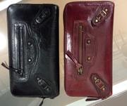 Кожаный кошелек-клатч Balenciaga