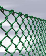 Сетка рабица c полимерным покрытием по доступной цене