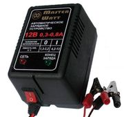 Зарядное устройство для аккумулятора 12В(6V) до эхолота,  металлоискате