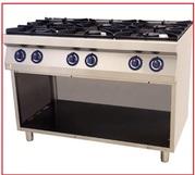 Новая по цене Б/У плита профессиональная газовая Kogast PS-T67P 6 конф
