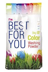 Стиральный порошок для цветного Best for You (3 кг.)
