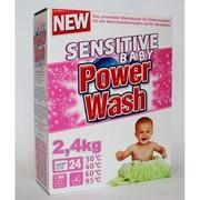 Универсальный детский стиральный порошок Power Wash Baby (2, 4 кг.)