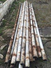 Труба 89х3,  4,  5 мм б/у,  прямошовная,  длиной от 5 до 9 м