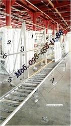 Многорядные рольганги линий производство металлопластиковых окон .