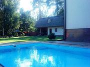 Усадьба в лесу. 2 дома (коттедж  и гостевой). 4 км. от черты Киева