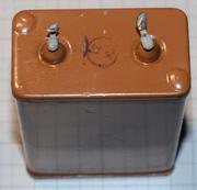 Конденсатор КБГ - МН,  4 мкф. 600 в.,  пусковой