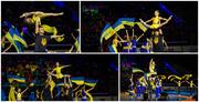 Художественная гимнастика и акробатика на Отрадном.
