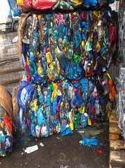 Стабильная поставка прессованных ПЭТ отходов в Киеве и Броварах