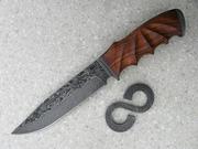 Деревянные рукоятки,  заготовки для элитного ножа из твердых экзотических пород