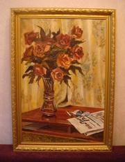 Продам картины «Киев послевоенный » и  «Натюрморт ».