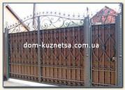Кованые ворота,  перила,  калитки,  заборы от производителя в Киеве