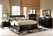 Кровать Монако из натурального дерева