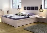 Двуспальная кровать Натали из натурального дерева