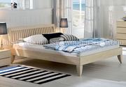 Двуспальная кровать Коста Бланка из дерева