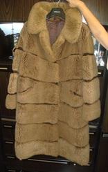 Продам женскую шубу  (Болгария) из натурального коричневого меха