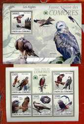 2009 Коморы Птицы Фауна