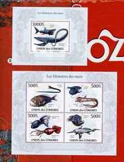 2010 Коморы Личности Фауна Техника Динозавры