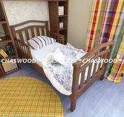 Детская кровать Волна из натурального дерева