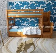 Детская двухъярусная кровать Саванна