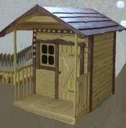 Домик для детей деревянный