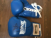 Боксерские перчатки с автографом Владимира Кличко