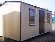Вагончик строительный,  жилой,  дачный 6х3 м,  новый