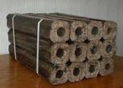 Топливные (дубовые) брикеты (евроддрова) Pini Kay (Пини Кей) с прессов