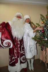 Вызов Деда Мороза и Снегурочки в Киеве
