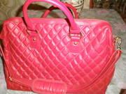 Продам новую, женскую, стильную, кожзам, красную сумку д/ноутбука&нетбука.