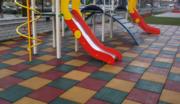 Резиновая плитка (Резиновое покрытие из резиновой крошки)