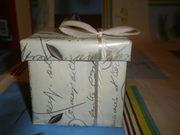 Продам новую, праздничную коробочку с бантиком, д/романтичного подарка.