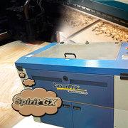 Лазерный гравер GCC Spirit GX 40 б/у (+компрессор+вытяжка TBH (Германи