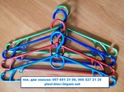 Вешалки-плечики с поворотным крючком для легкой одежды
