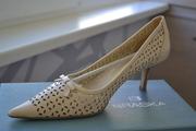 Продам кожаные туфли 40р фирмы *BRASKA*