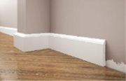Продам белый Плинтус Cezar LPC-15,  ударопрочный,  под покраску,  пр-во П