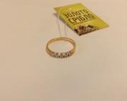 Кольцо золотое с бриллиантами б/у. Вес 2, 06 грамм. Продажа